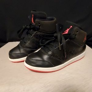 🔥Jordan 1 flight 5 premium sneakers sz 3Y